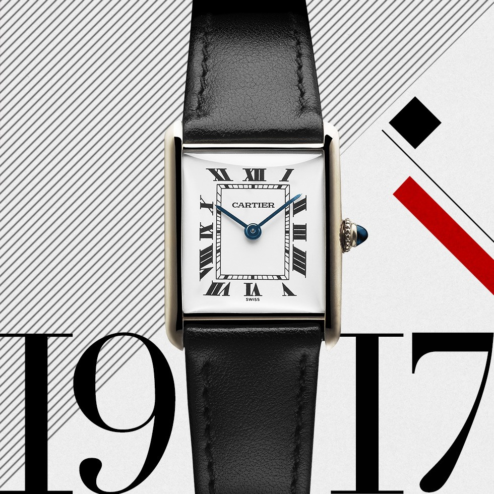 celebrating the 100th years of the Cartier Tank