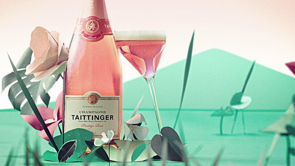 Taittinger Oh My Rosé